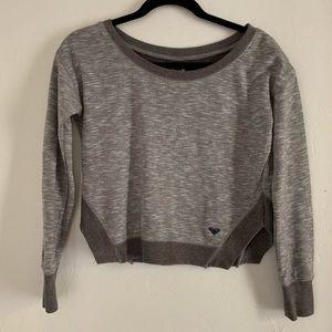 Roxy | Grey cropped sweatshirt